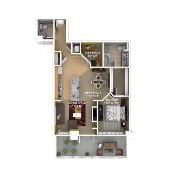 D3 - Terrace